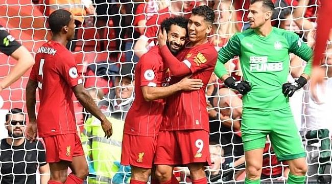 Liverpool Newcastle'ı yıldızlarıyla geçti