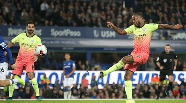 Manchester City Everton'ı deplasmanda devirdi