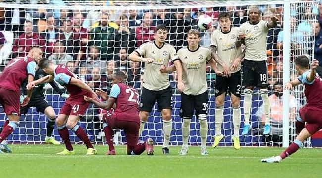 Manchester United'a West Ham darbesi