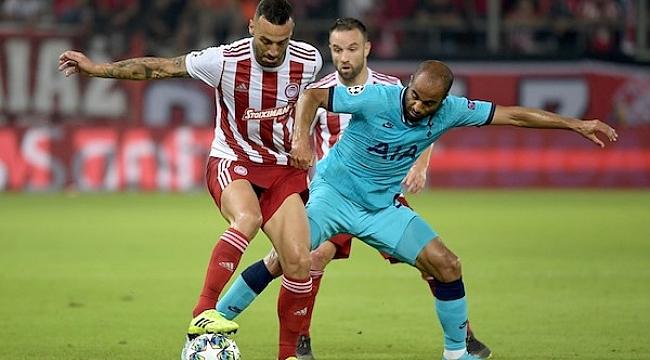 Olympiakos Valbuena'nın golüyle Tottenham'ı durdurdu