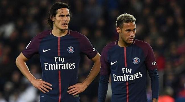 PSG'de Neymar, Cavani ve Draxler yok
