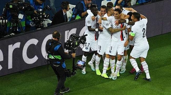 PSG Real Madrid'i şoka soktu: 3-0