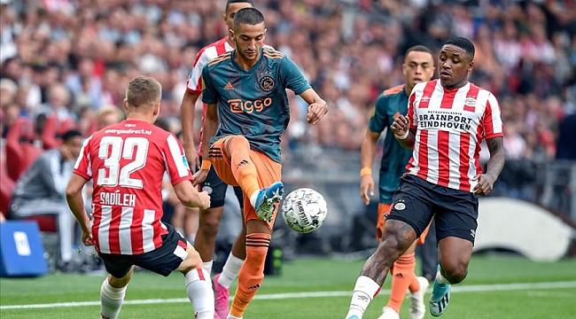 PSV Eindhoven ile Ajax yenişemedi