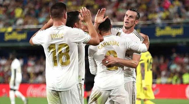 Real Madrid Villareal'le de berabere kaldı