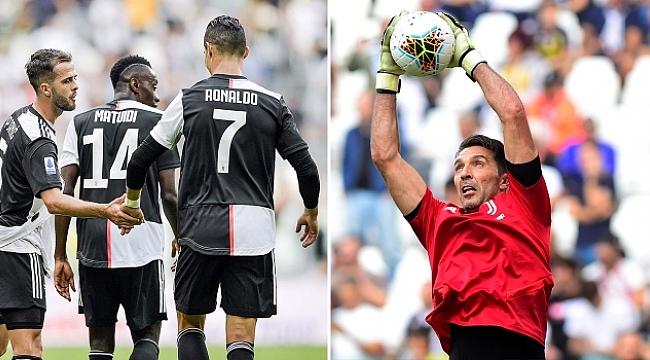 Ronaldo attı, Buffon rekor kırdı