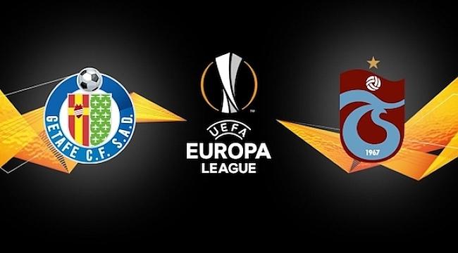 Trabzonspor kafilesi Getafe'de