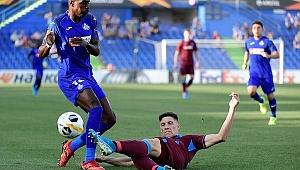 Trabzonspor tek gole yenik düştü