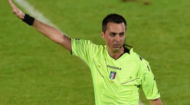Trabzonspor'un maçına İtalyan hakem