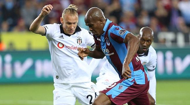 Trabzonspor ve Beşiktaş galibiyet için sahada
