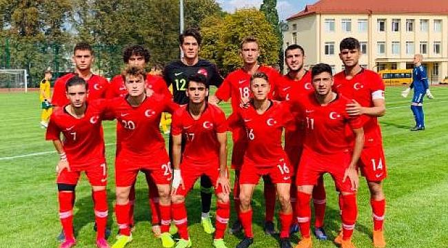 U18 Milli Takımı Litvanya'yı 4-2 mağlup etti