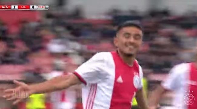 UEFA Gençlik Ligi'nde Naci Ünüvar attı Ajax Lille'i devirdi