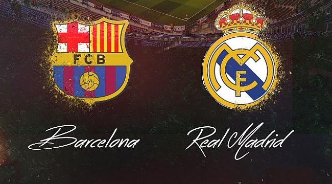 Barcelona - Real Madrid maçı ne zaman saat kaçta hangi kanalda ?