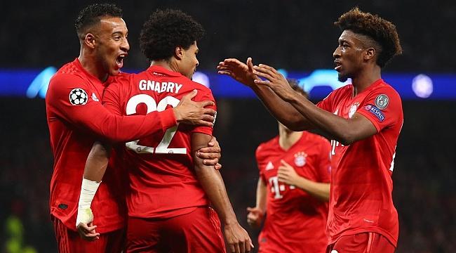 Bayern Münih Tottenham'ı ezdi geçti: 2-7