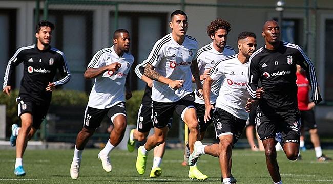 Beşiktaş Ankaragücü maçına hazırlanıyor