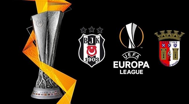 Beşiktaş Braga karşısında moral ve puan arıyor