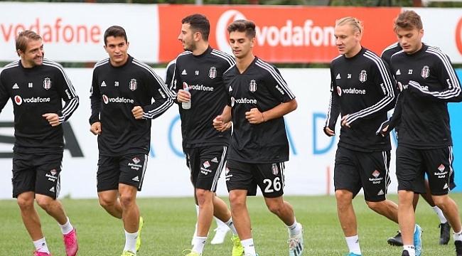 Beşiktaş hazırlıklarını eksik kadroyla sürdürdü