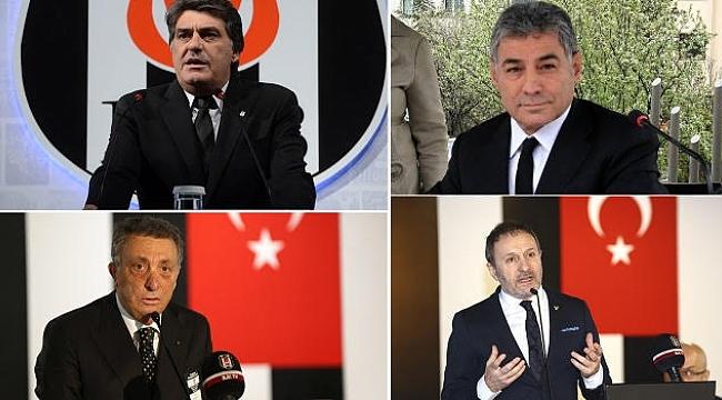 Beşiktaş'ta 4 aday Başkanlık için yarışacak