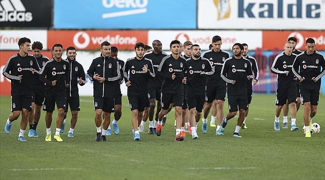 Beşiktaş'ta Antalyaspor maçı hazırlıklarını sürdürdü