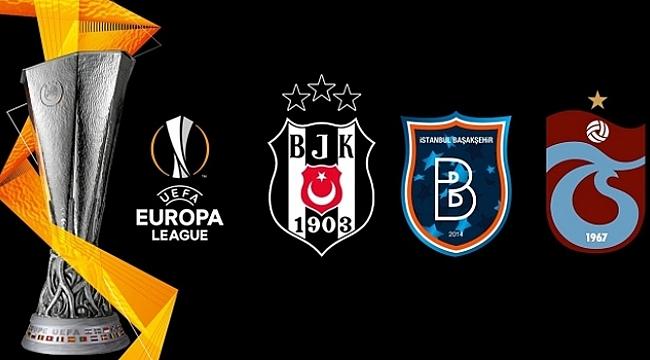 Beşiktaş, Trabzonspor ve Başakşehir ilk galibiyet peşinde