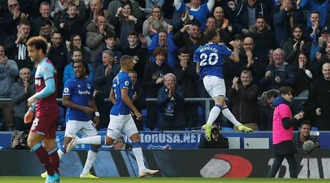 Everton West Ham'ı iki golle geçti