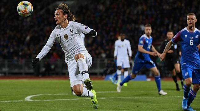 Fransa İzlanda'yı penaltıyla geçti