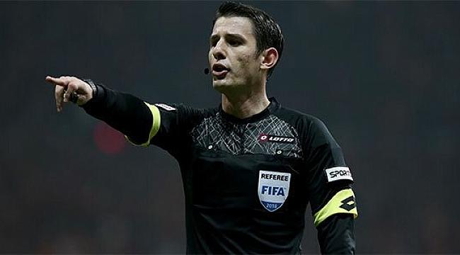 Halil Umut Meler'e UEFA Avrupa Ligi'nde görev