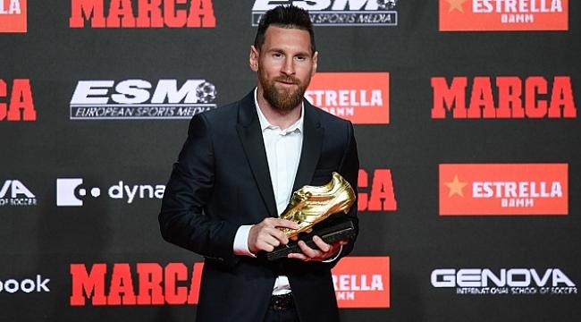 Lionel Messi 6. kez Altın Ayakkabı'nın sahibi