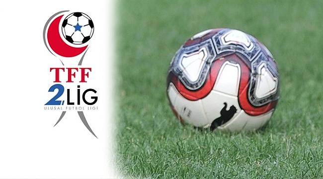 TFF 2. Lig'de 10. Hafta maçları tamamlandı