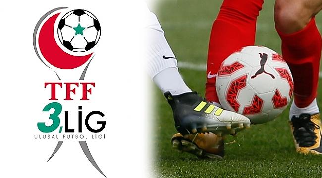 TFF 3. Lig'de 10. Hafta maçları tamamlandı