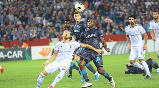 Trabzonspor Basel'den kaçamadı