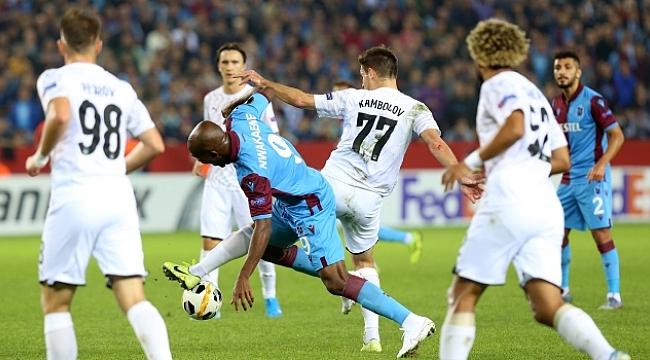 Trabzonspor Krasnodar'a sahasında yenildi