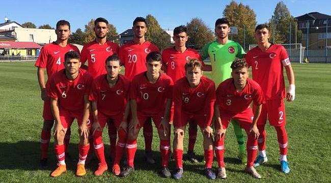 U18 Milli Takımı İsveç ile berabere kaldı