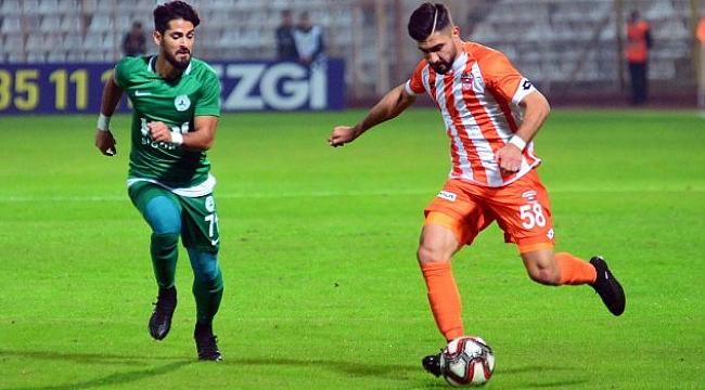 Adanaspor ile Giresunspor yenişemedi