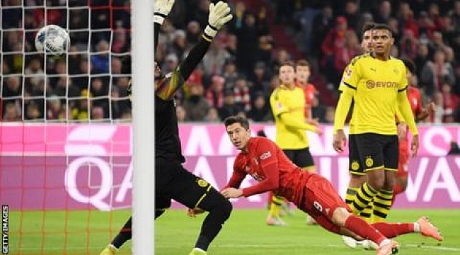 Bayern Münih Dortmund'a gol yağdırdı