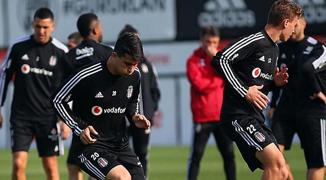 Beşiktaş 6 eksikle idman yaptı