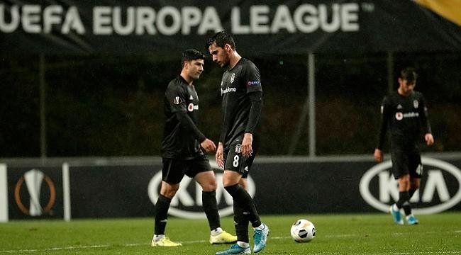 Beşiktaş Braga'ya yenildi Avrupa'ya veda etti