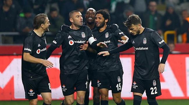 Beşiktaş Konya'da Burak Yılmaz'la kazandı