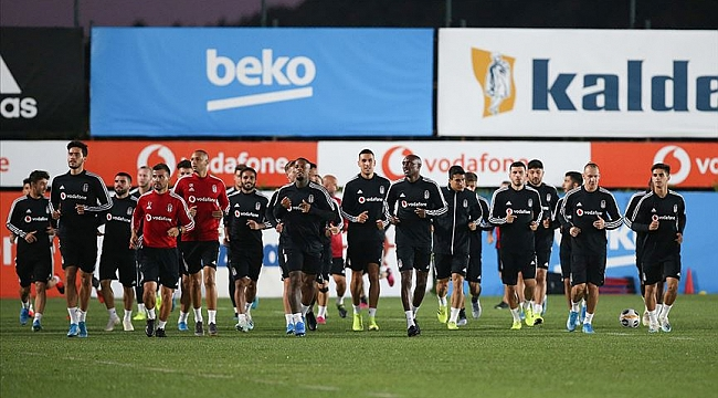 Beşiktaş'ta Sporting Braga mesaisi