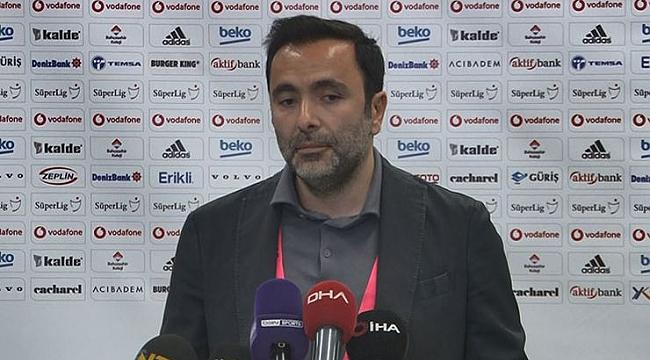 Beşiktaş'tan hakeme tepki