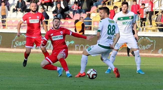 Boluspor'la Bursaspor puanları paylaştı