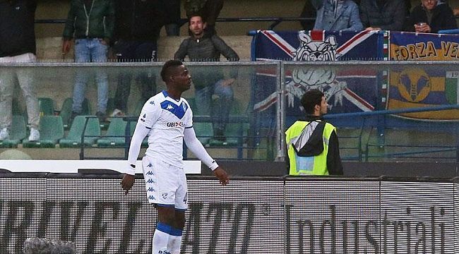 Brescia'lı Mario Balotelli'ye ırkçı saldırı
