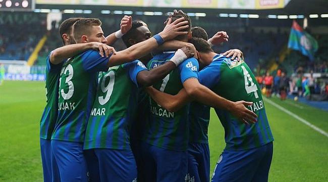 Çaykur Rizespor Konyaspor'u 3-1 mağlup etti