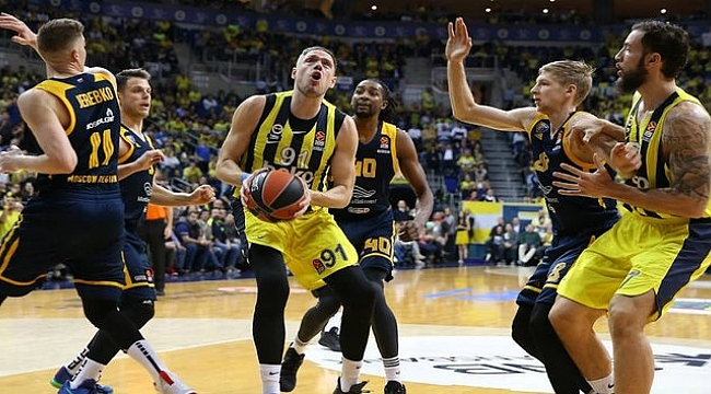 Eksik Fenerbahçe Beko Khimki'yi devirdi