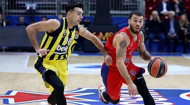 Fenerbahçe Beko Moskova'da mağlup