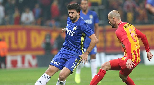 Fenerbahçe Kayseri'ye mağlup oldu