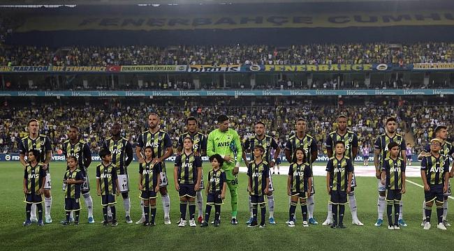 Fenerbahçe maç içi istatistiklerinde lider