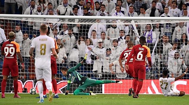 Galatasaray Madrid'te dağıldı