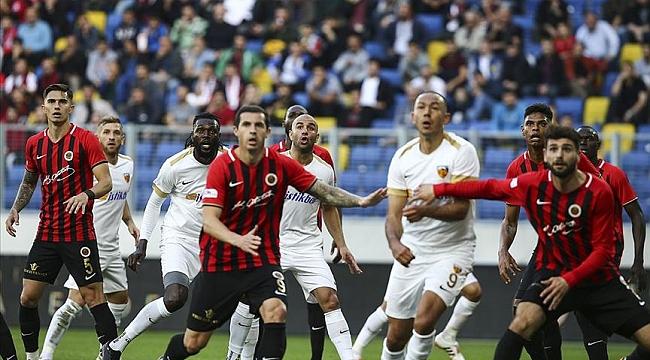 Gençlerbirliği Kayserispor'u 2-1 mağlup etti
