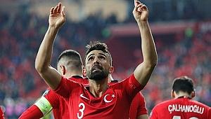 Hasan Ali Kaldırım'ın milli forma sevinci