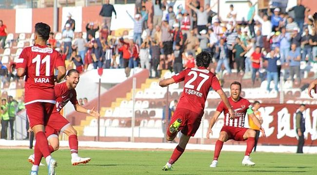 Hatayspor İstanbulspor'u yendi, liderliğe oturdu